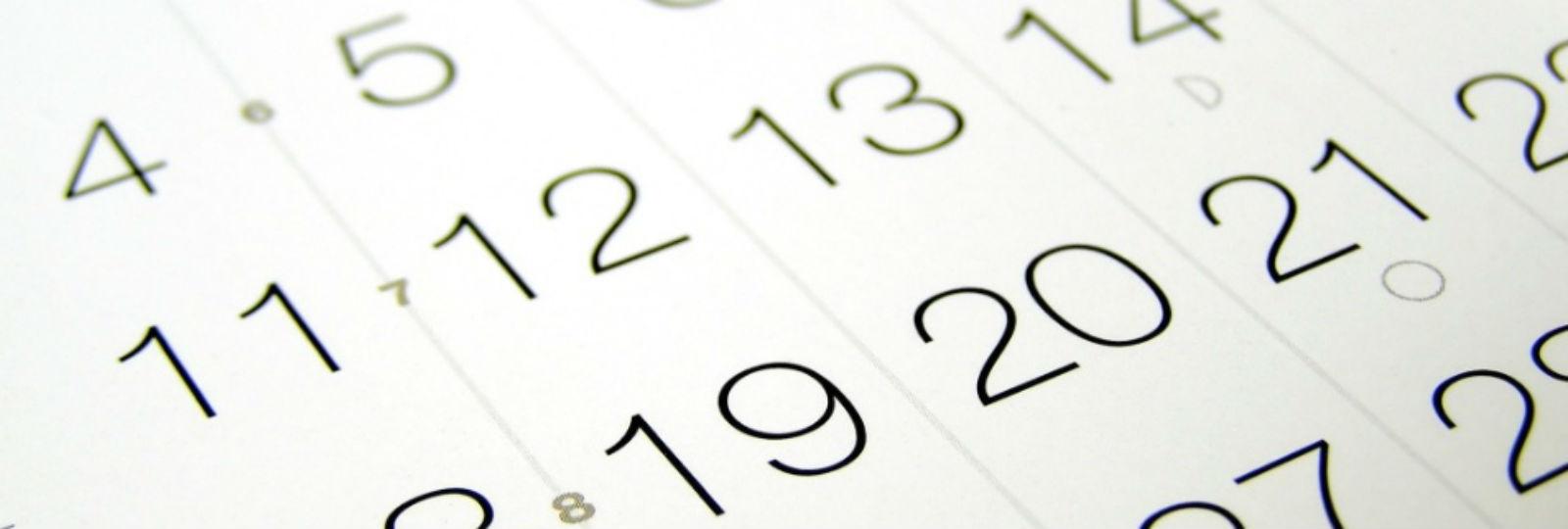 1174:Calendário Escolar 2017