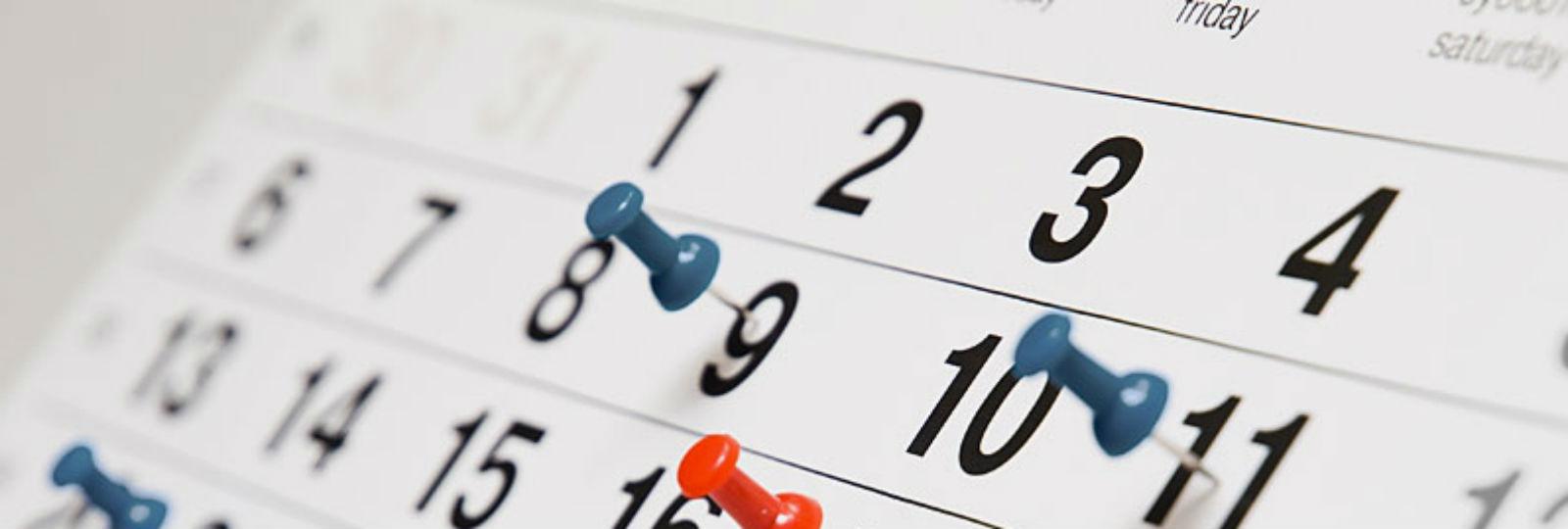 1346:Calendário escolar 2019