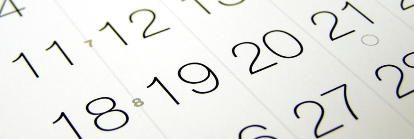 1256:Calendário Escolar 2018