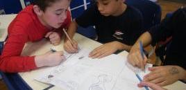- Estudantes do 3� ano contam hist�rias com apoio de aplicativo educacional