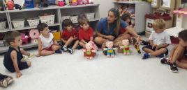 4187:Crianças participam de projeto de adaptação