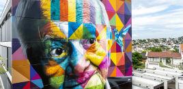 4911:Colégio recebe 1ª obra de Eduardo Kobra em Porto Alegre