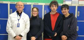 3896:Estudantes do 9º ano classificados para a 3ª fase da OBF