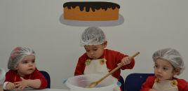 - Crianças do N1B preparam bolo de cenoura