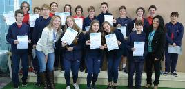 3591:Estudantes dos Anos Finais e do Ensino Médio recebem certificados