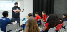 3397:Estudantes participam de workshop Youtubers