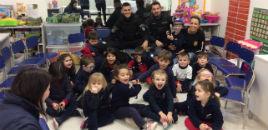 4426:Crianças do Nível 3C recebem a visita de policiais
