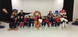 3970:Patrulha Canina visita as crianças da Educação Infantil