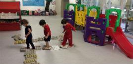 4140:Crianças do Nível 2B encerram projeto com circuito motor