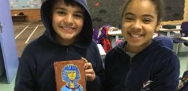 4599:Estudantes dos 6º anos aprendem sobre a arte egípcia