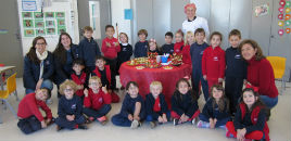 4392:Crianças do Nível 5C organizam Festa das Frutas