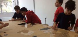 3867:Estudantes do 5º ano fazem grafite sobre as cidades