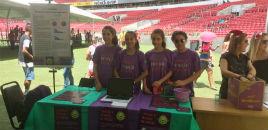 4145:Estudantes do 6º ano apresentam trabalho no Estádio Beira-Rio