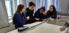 3646:Turma do 8º ano do Correia Lima tem aula no Laboratório de Física