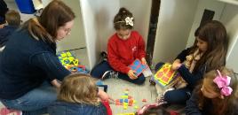 3760:Turmas do 1º ano participam de circuito pedagógico entre a tecnologia e a matemática