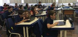 3952:Estudantes do 4º ano têm contato com os Chromebooks
