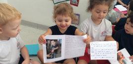 4844:Crianças do Nível 2A descobrem sobre os animais