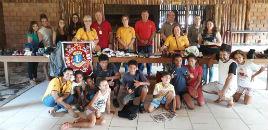 4163:Grêmio Estudantil entrega doações da Campanha Pé Quente