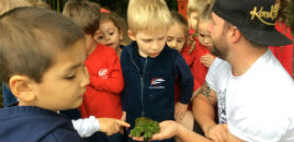 4011:Crianças do Nível 3B visitam o Jardim Botânico