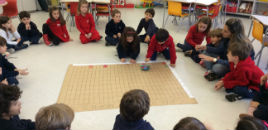 3745:Crianças do Nível 5F aprendem a trabalhar com gráficos
