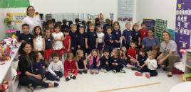 4134:Crianças do Nível 2A visitam os colegas do Nível 3B