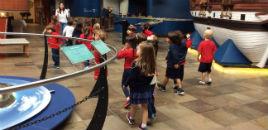 3907:Crianças dos Níveis 3, 4 e 5 no Museu da PUCRS