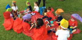 4885:Crianças do Nível 1C encerram projeto com piquenique
