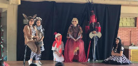 4836:Grupo de Teatro do Colégio se apresenta em escola municipal