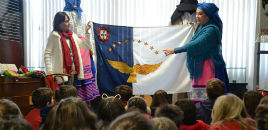 4446:Turmas do 3º ano têm oficina sobre história e cultura açoriana