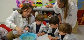 4425:Projeto Pequenos Cientistas envolve crianças do Nível 2D