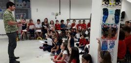4792:Projeto Artista na Escola recebe Israel Severo