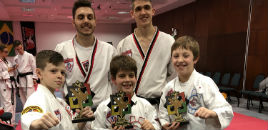 4616:Estudantes destacam-se em torneio de Taekwondo