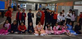 4689:Turma do 3º ano A do Correia Lima celebra tradições gaúchas