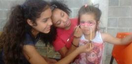 4035:Estudantes do Correia Lima visitam o Lar Esperança