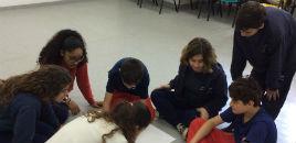 - Estudantes do Correia Lima estudam o de metro quadrado