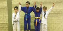 4056:Estudantes ganham medalhas na Copa Escolar de Judô