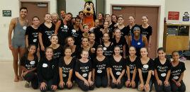 4200:Estudantes dançam ballet na Disney e em jogo da NBA