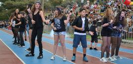 - Os diferentes estilos musicais no desfile dos XLV Jogos