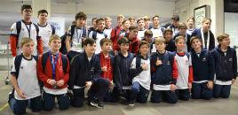 4513:Estudantes do Farroupilha embarcam para a Disney Cup
