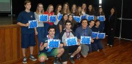 - Estudantes recebem medalhas e certificados da MSF