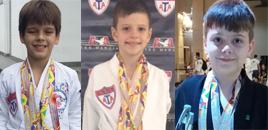 4045:Estudantes destacam-se em campeonato de Taekwondo