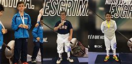 4660:Medalhistas no Campeonato Estadual Infantil de Esgrima