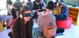 """4003:Exposição """"Em seu Lugar"""" promove experiência de empatia"""