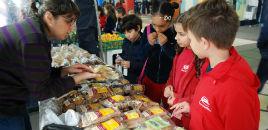 3598:Comunidade escolar prestigia a Feira Orgânica