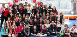 4447:Estudantes participam de Festival de Ginástica Olímpica