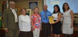 4311:Colégio recebe homenagem por trabalho na unidade Correia Lima