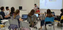 4144:Estudantes têm oficina de programação na Hora do Código