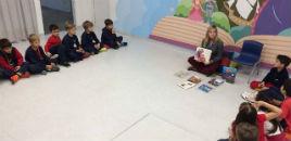 4643:Anos Iniciais têm Hora do Conto sobre o cuidado com os livros