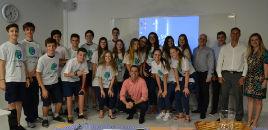 4142:Estudantes concluem a primeira etapa da GrowCube