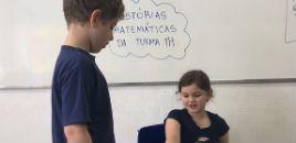 4025:Estudantes do 1º ano produzem histórias matemáticas